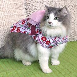 iCAT 和風花流水浴衣/ 貓狗寵物專用