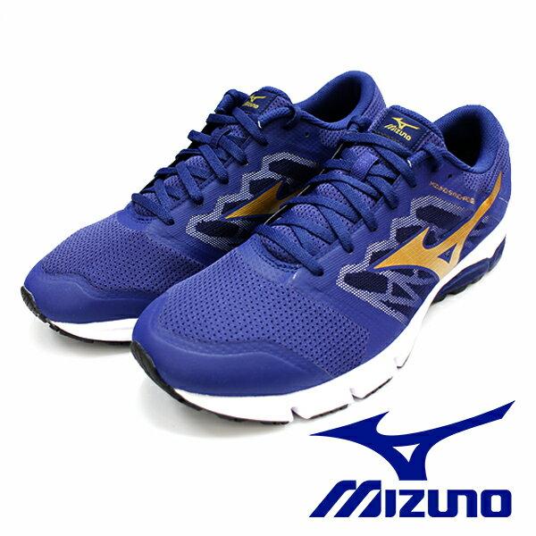 【MIZUNO 促銷5折】MIZUNO SYNCHRO MX 二代 藍 路跑訓練鞋 男 慢跑鞋休閒鞋運動鞋健走鞋 J1GE171850