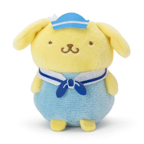 【真愛日本】4901610338643造型手玉娃-PN海軍ACQ布丁狗三麗鷗手玉娃玩偶娃娃水手服造型