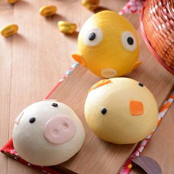 【奇美饅頭】動物造型饅頭-3款組合 0