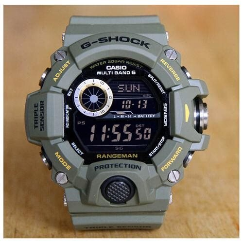 Casio G-Shock Master Of G Rangeman Solar Watch GW9400-3 1