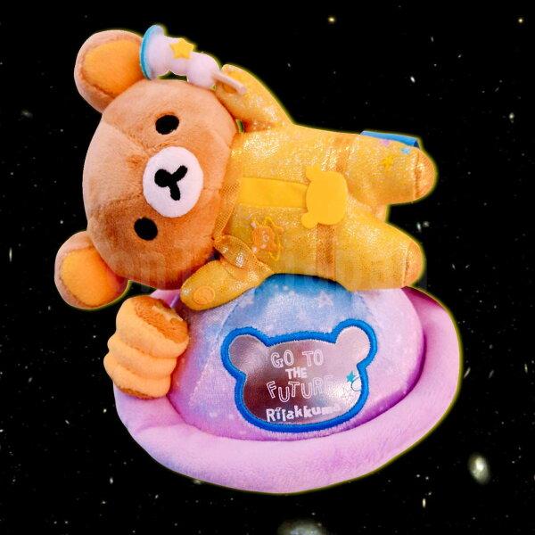 【真愛日本】14072500021專賣店限定-宇宙懶熊惑星san-x懶熊啦啦熊宇宙惑星日本帶回娃娃布偶