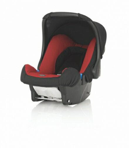 【淘氣??】Britax BABY-SAFE 基本款提籃型安全汽車座椅(汽座) -紅 【英國皇室御用品牌】