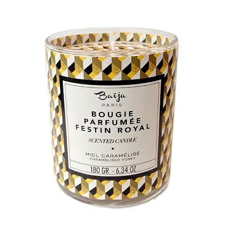 巴黎百嘉 焦糖蜂蜜 香氛蠟燭 180g 大豆蠟 純植物蠟 可當按摩油 法國製造 Baija Paris 香鼻子選品 Les nez