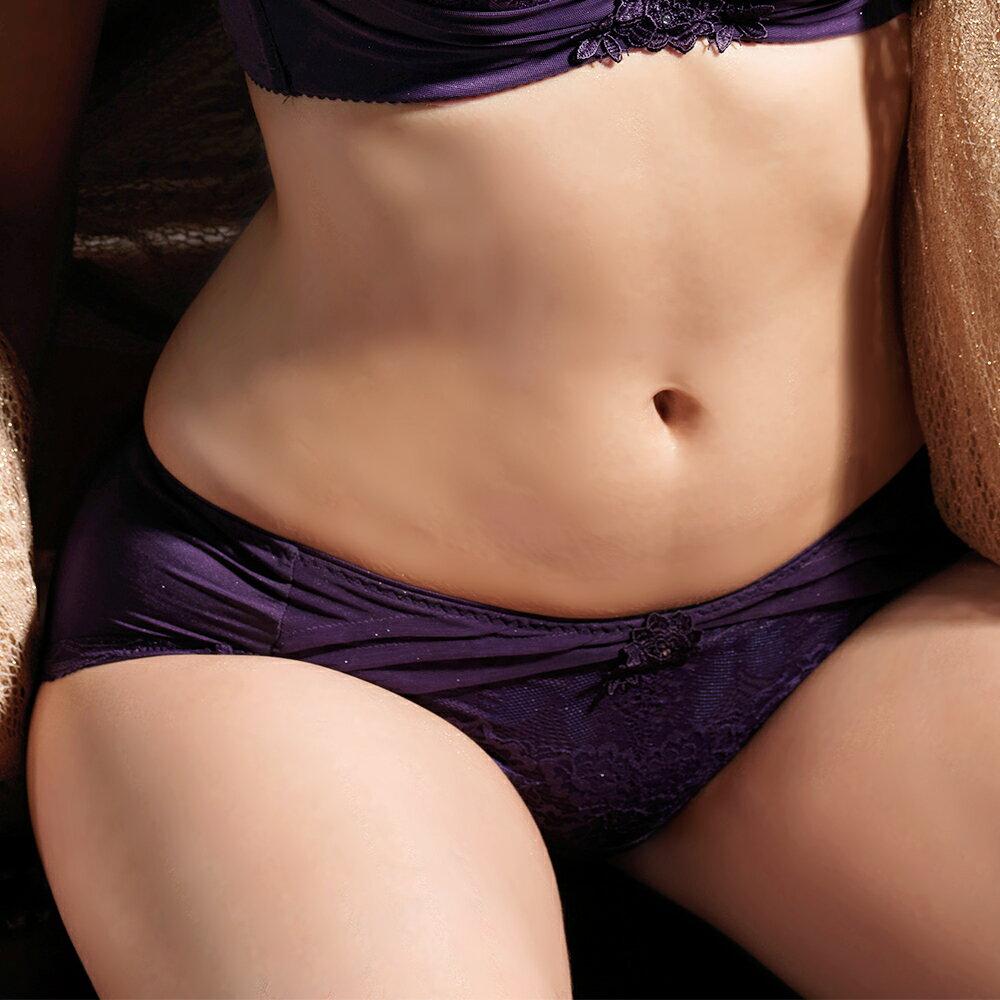 【Favori】魔力 美塑系列平口褲 (葡萄紫) 1