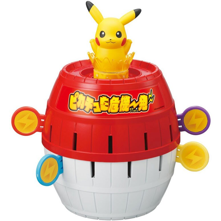 [聖誕專區]TOMY多美神奇寶貝寶可夢危機一發圓木桶皮卡丘869559海渡 過年玩具