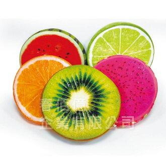 3D 彩漾仿真水果抱枕/椅墊 (1入) 靠墊 枕墊 可拆洗 多種花色可選 寢室臥室客廳辦公使用