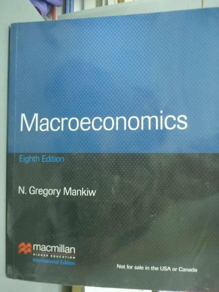 ~書寶 書T1/大學商學_QNT~Macroeconomics_MANKIW_8  e