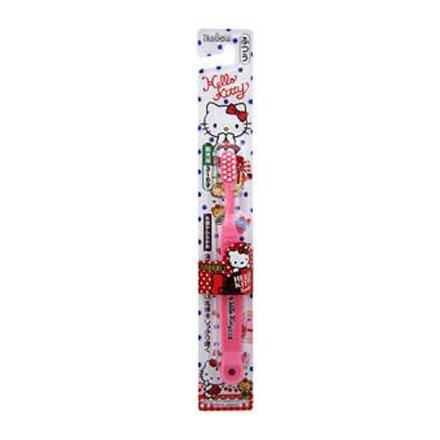 【悅兒樂婦幼用品?】日本EBiSU Hello Kitty 3~6歲兒童牙刷 (B-S20)