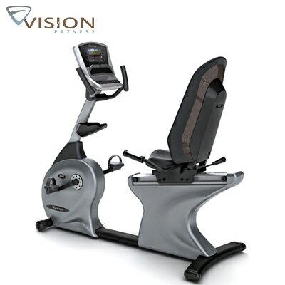 市場最低↘JOHNSON喬山 VISION R40 Elegant 斜臥式健身車《支援Passport互動影音系統》