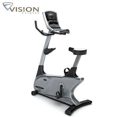 市場最低↘JOHNSON喬山 VISION U40 Elegant 直立式健身車《支援Passport互動影音系統》