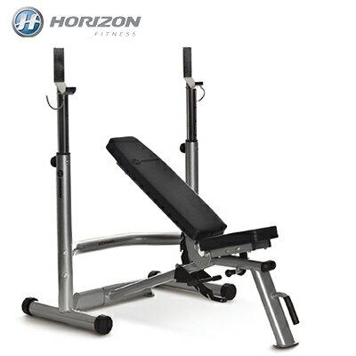 市場最低↘JOHNSON喬山 HORIZON Adonis Plus 多功能舉重訓練床/啞鈴訓練椅