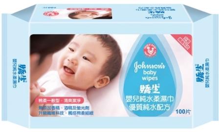 嬌生嬰兒一般純水柔濕巾100片