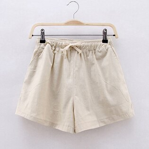 棉麻短褲(8色S~3XL)*ORead*