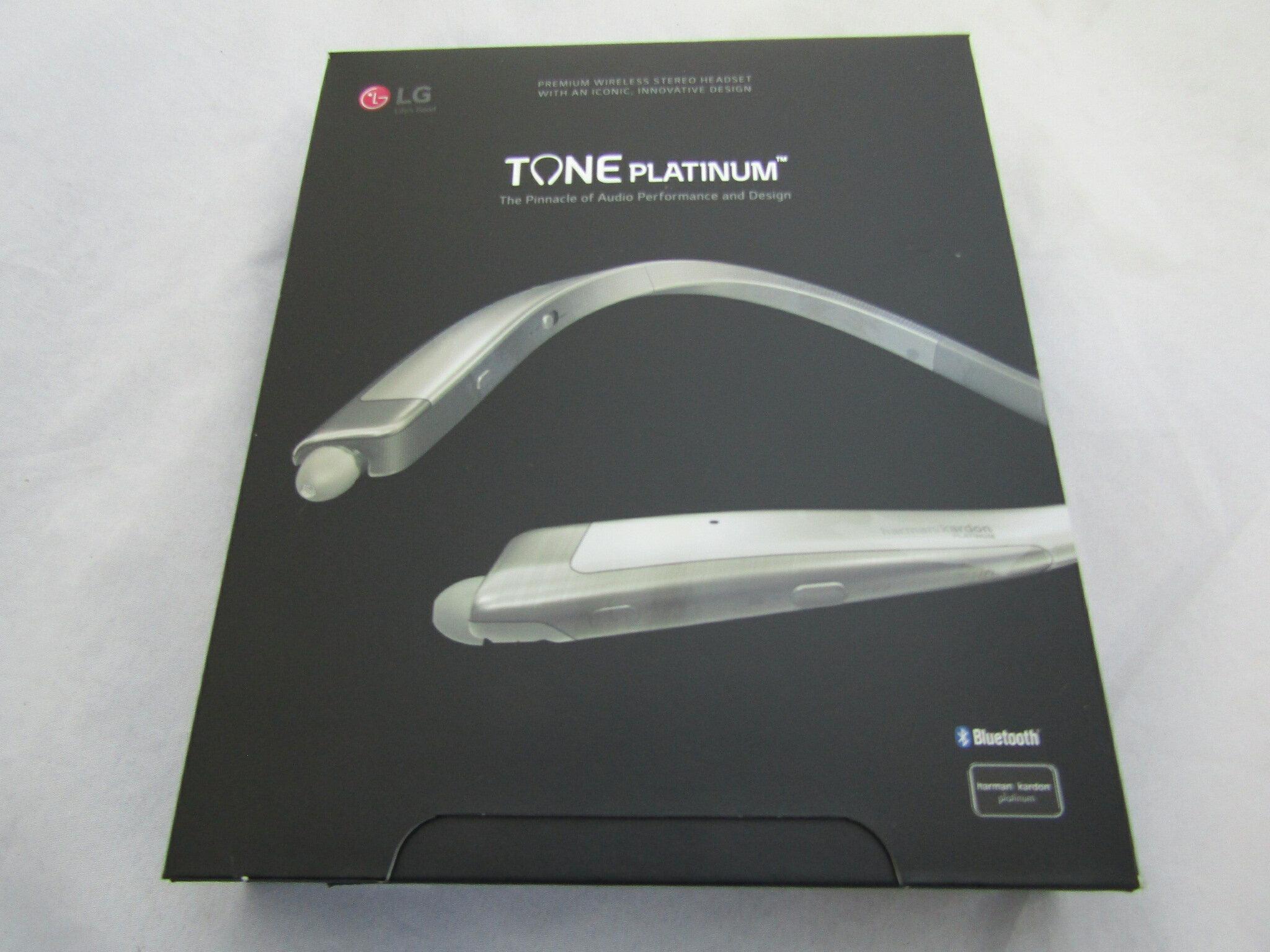 8ebe22c0dc7 LG Tone Platinum HBS-1100 - Premium Wireless Stereo Headset - Silver 0