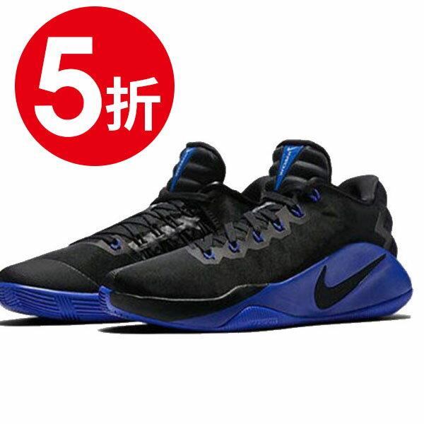 《限时5折》【NIKE】NIKE HYPERDUNK 2016 LOW EP 篮球鞋 运动鞋 黑色 男鞋 -844364040