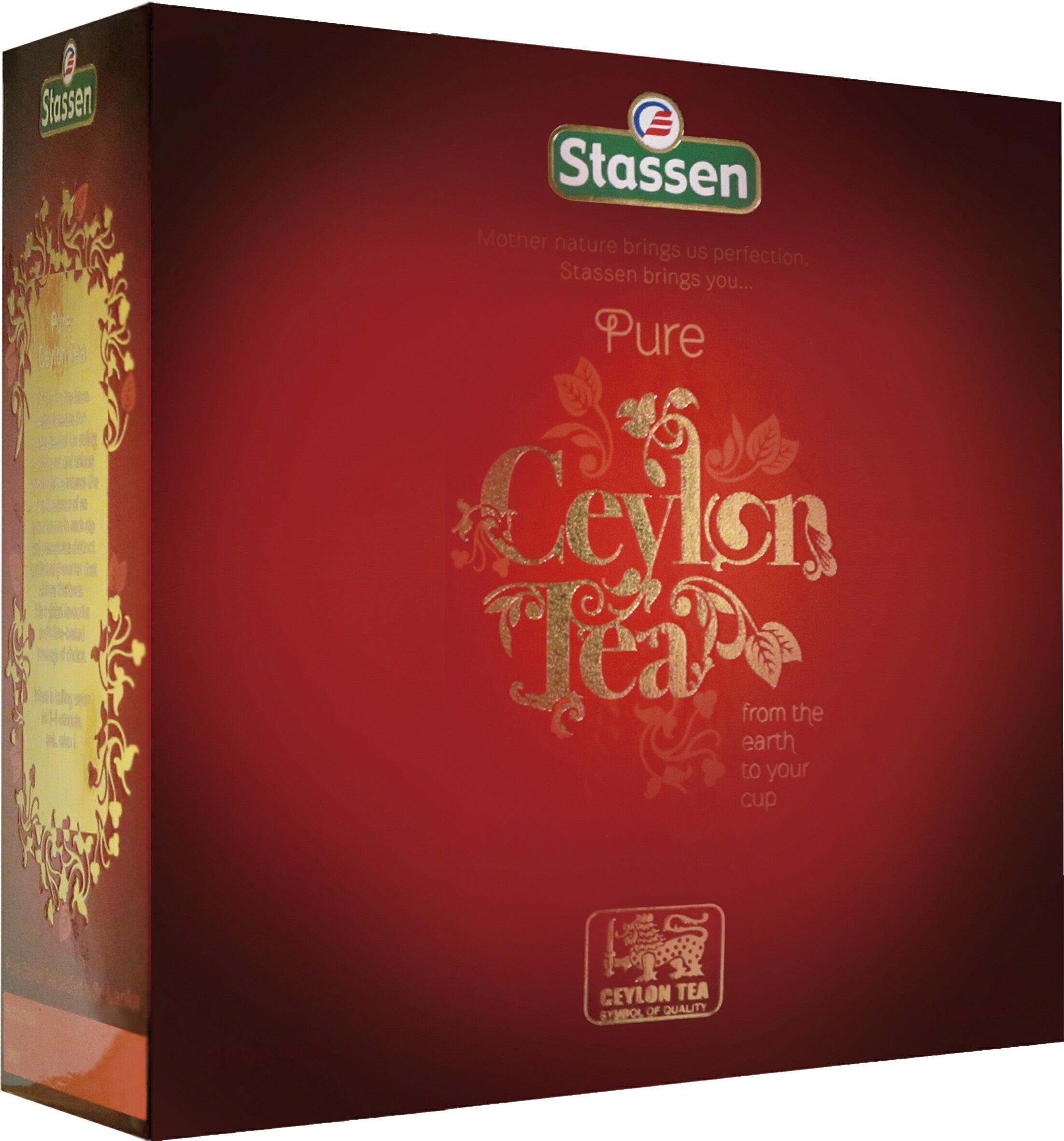 Stassen 司迪生★精選紅茶★【100入*1盒】 0
