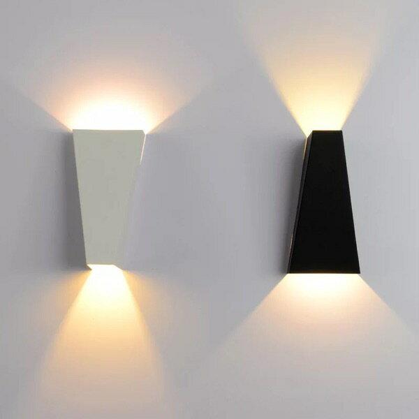 【威森家居】北歐 梯形洗牆壁燈 現貨實木鐵藝工業風現代簡約復古吸頂燈吊燈檯燈大廳客廳臥室燈具LED設計師 L170606