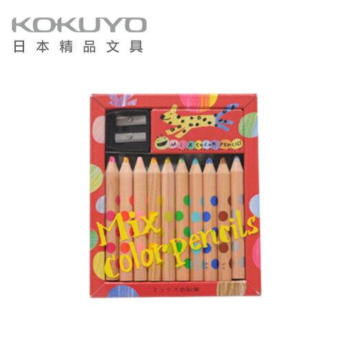 日本 KOKUYO  MIX雙色色鉛筆KE-AC1-10支組 / 組