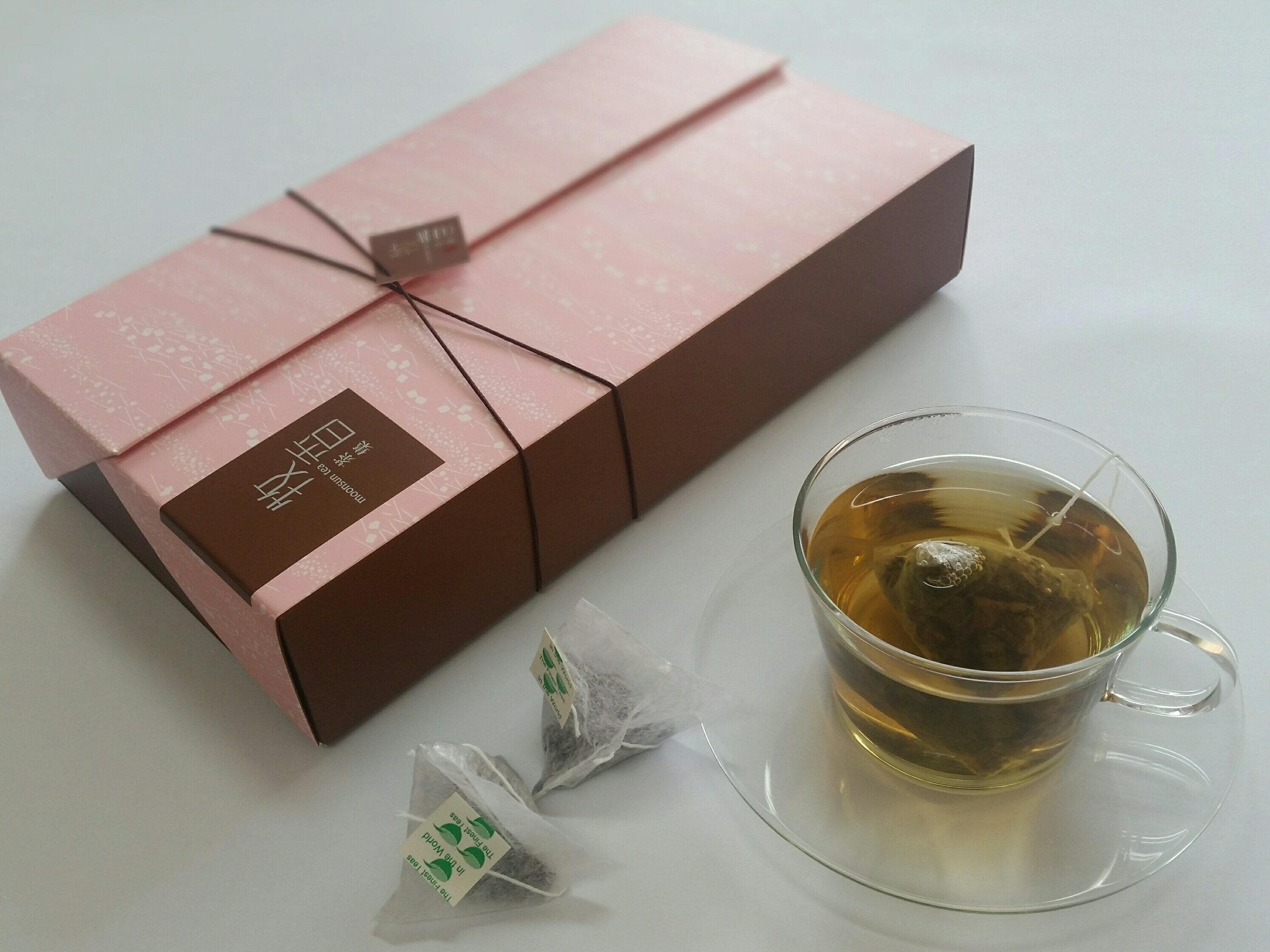 『牧香茶集花茶系列』蜜香貴妃烏龍原片茶包禮盒   Honey oolong tea bag