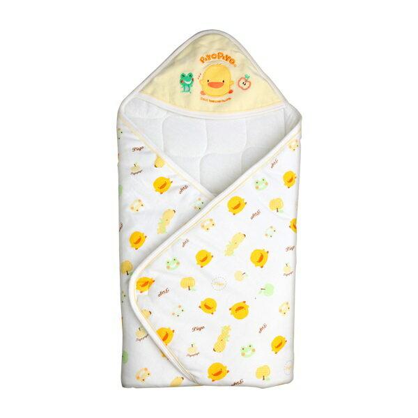 Piyo Piyo黃色小鴨 ~ 雙面布印圖包巾
