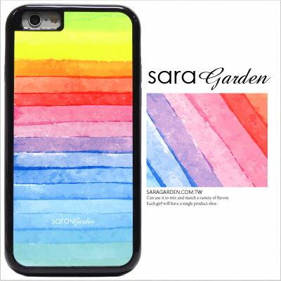 客製化 手機殼 iPhone 6 6S Plus 防摔殼 水彩彩虹 光盾