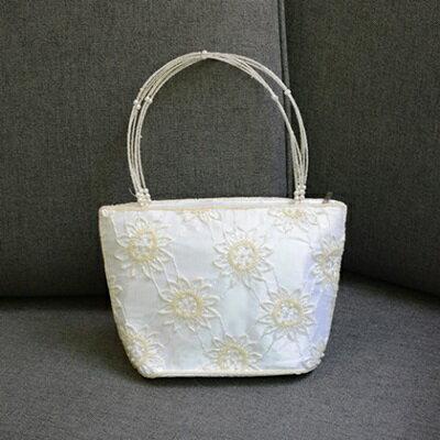 手提包釘珠晚宴包-優雅花朵時尚氣質女包包73sn7【獨家進口】【米蘭精品】