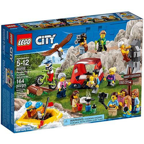 樂高LEGO 60202 CITY 城市系列 -戶外探險人偶組 - 限時優惠好康折扣