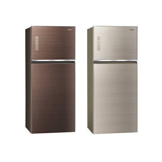 國際 Panasonic 422公升 雙門變頻無邊框玻璃電冰箱 NR-B429TG【雅光電器】