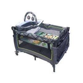 國城-豪華全配遊戲床(83068)(蚊帳、上層架、玩具架,尿布台)2199元【來電另有優惠】