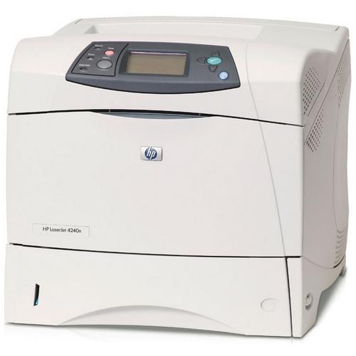 HP LaserJet 4240N Printer - Monochrome - Parallel - Fast Ethernet 0