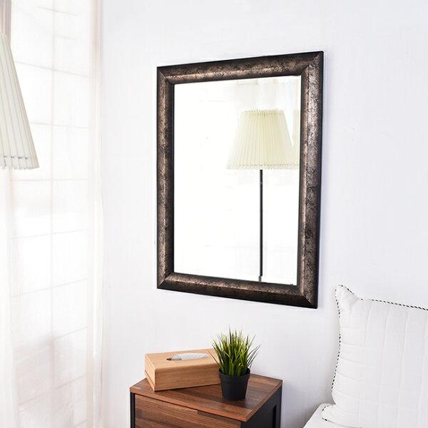 凱堡黑森林復刻木框鏡掛鏡鏡子【H15049】