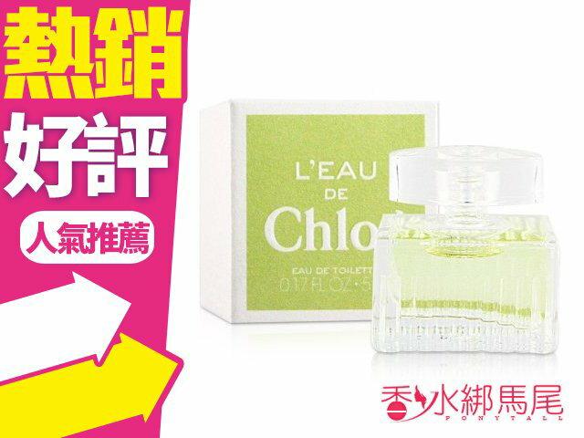 Chloe 水漾玫瑰女性淡香水 5ml 小香水◐香水綁馬尾◐