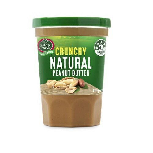 Mother Earth 紐西蘭花生醬(顆粒 380g / 瓶) [大買家] 4