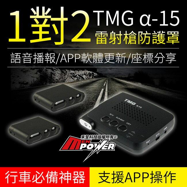 【免運+送基本安裝】TMG α15 1對2 雷射槍防護罩 支援APP雲端操作 台灣製造 a15【禾笙科技】