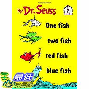 ^~106美國直購^~ 2017美國暢銷兒童書 One Fish Two Fish Red