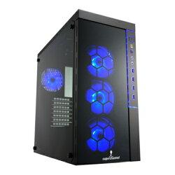 視博通 SPC002B 魔幻戰士(三面強化玻璃/台灣製造) 電腦機殼 PC機殼 電競機殼【迪特軍】
