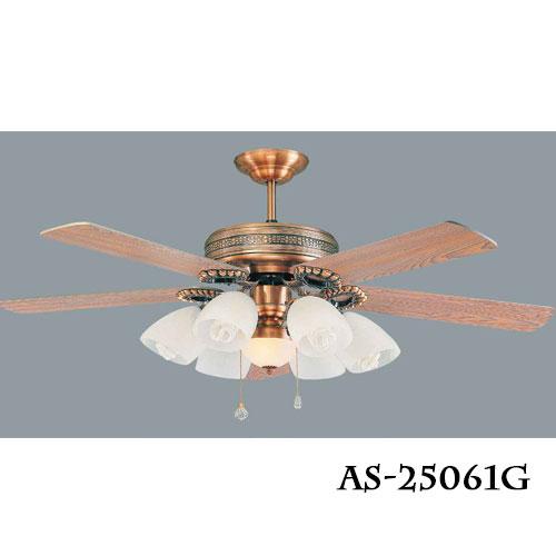 傳統系列★60吋吊扇燈風扇燈檀木光源另計★永光照明AS-25061+AS-25062