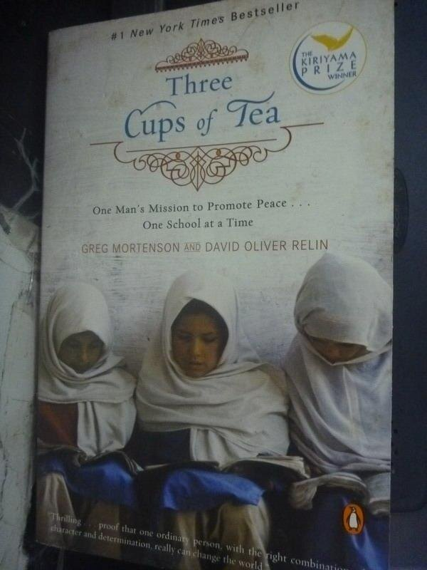 ~書寶 書T6/原文小說_JQE~Three Cups of Tea_Mortenson
