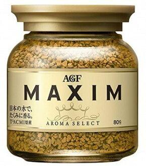 有樂町進口食品 期間限定 特價 179元 AGF MAXIN 金罐 箴言咖啡80G 4901919002481