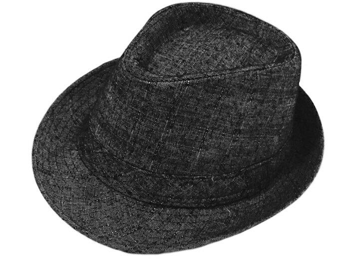 純黑紳士帽 免運