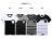 ☆BOY-2☆【NR35007】簡約素面雙色拼接男裝短袖T恤 1