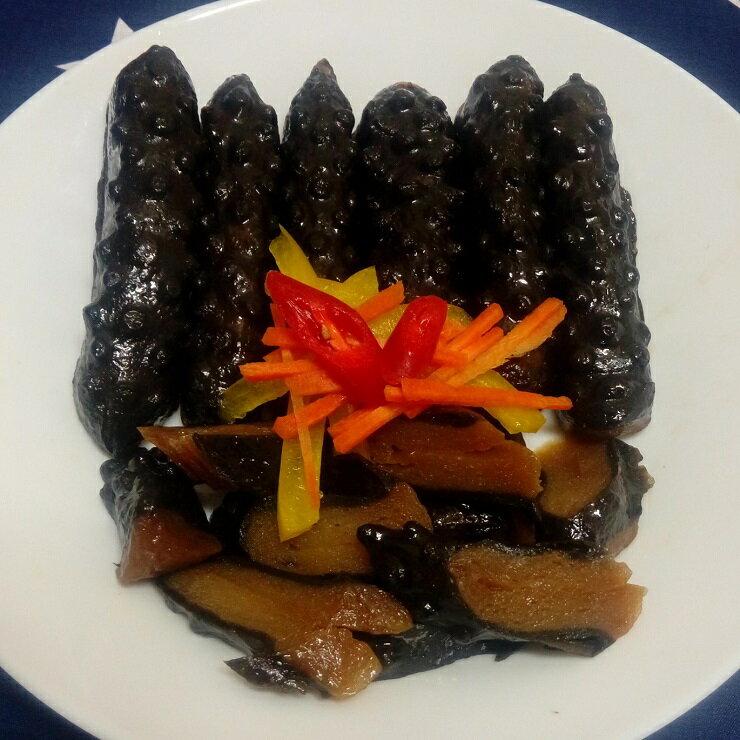 大溪素食滷味 龍鷹素食 黑糖滷味 滷黑蔘蒟蒻x5 買滷味附贈自製芝麻辣油包
