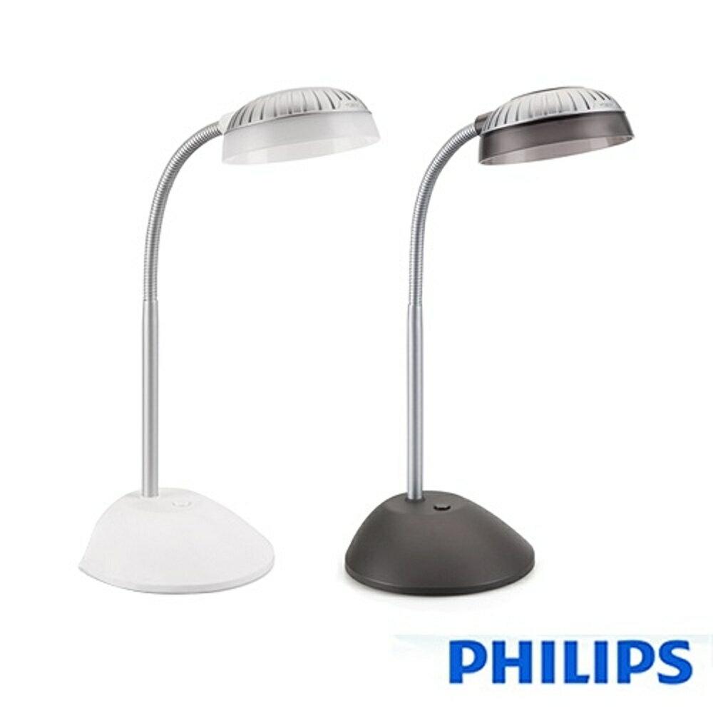 Philips飛利浦 酷樂 4W LED檯燈~深灰  6500K  800Lux 全電壓