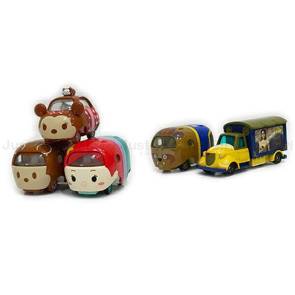 迪士尼 TOMY多美 玩具車 小汽車 情人節米奇米妮 美女與野獸 小美人魚愛莉兒 玩具 正版日本進口 JustGirl