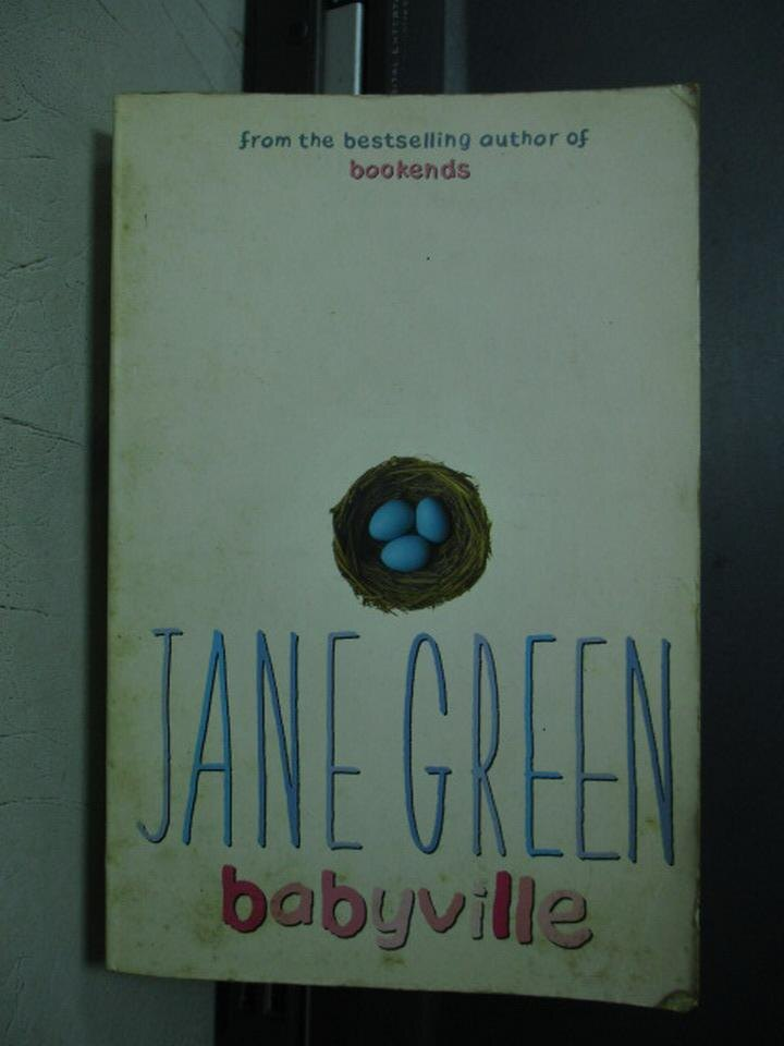 【書寶二手書T8/原文小說_JSC】JANE GREEN babyville_2001