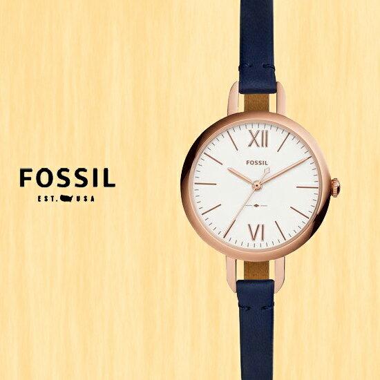 FOSSIL美國品牌ANNETTE簡約時尚淑女腕錶ES4359公司貨禮物