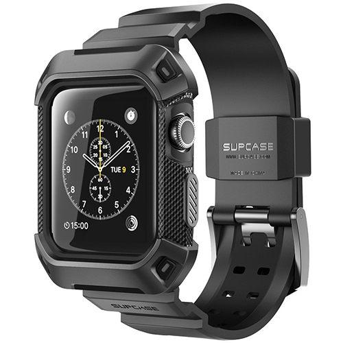 【美國代購】Apple Watch Case, SUPCASE 38mm保護殻含錶帶 for Apple Watch Series 2015 Edition