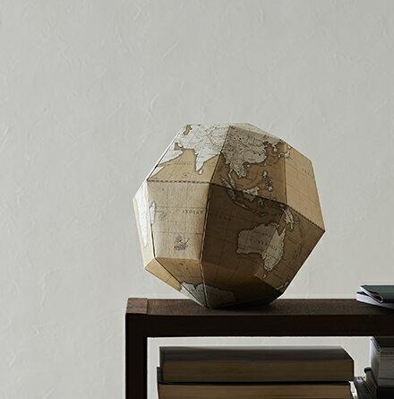 【geo-grafia】日本超人氣 文創小物 組合式紙製地球儀-古風 SGAN