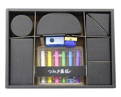 【Kitpas】日本超人氣 環保安全無毒 積木黑板套組 T-1